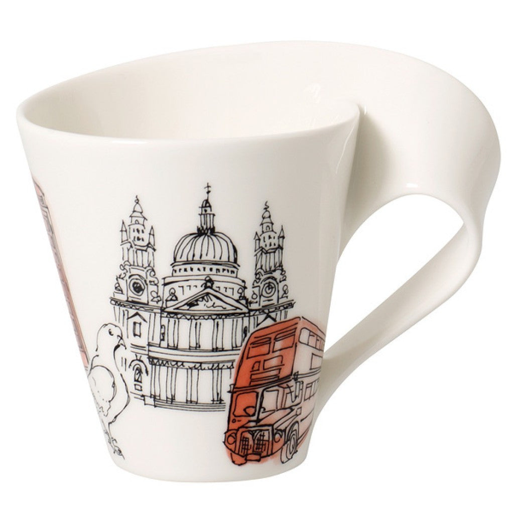 Wave Villeroy Und Boch villeroy boch wave caffe cities of europe mug venture
