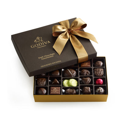 Godiva Chocolatier Dark Chocolate Gift Box (27 pc.)