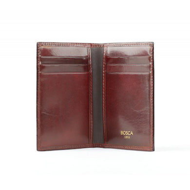Bosca Old Leather 8 Pocket Credit Card Case