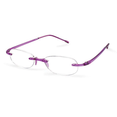 Scojo New York Gel Reading Glasses - Amethyst