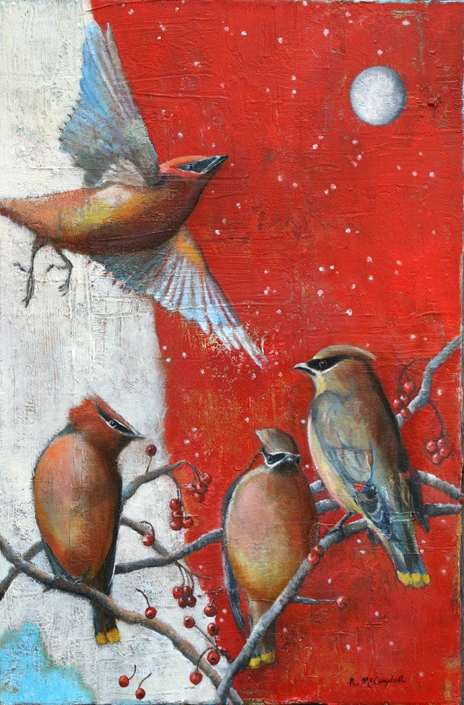 McCampbell_Waxwings_2'wx3'h_Oil_Canvas_MarchNew
