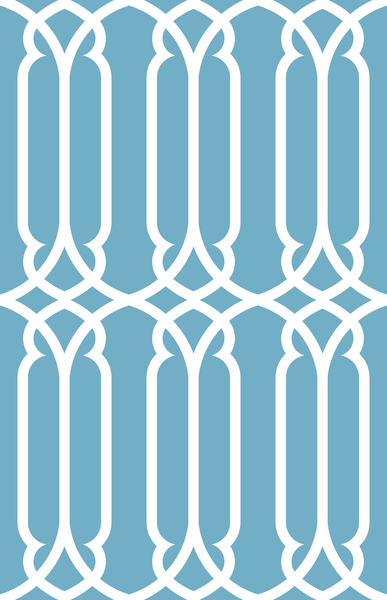 Trellis - French Blue