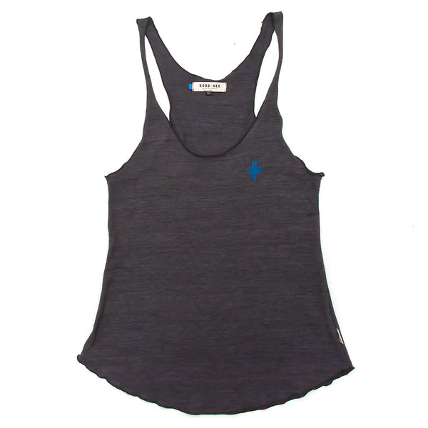 Women's over-tank | + | Charcoal