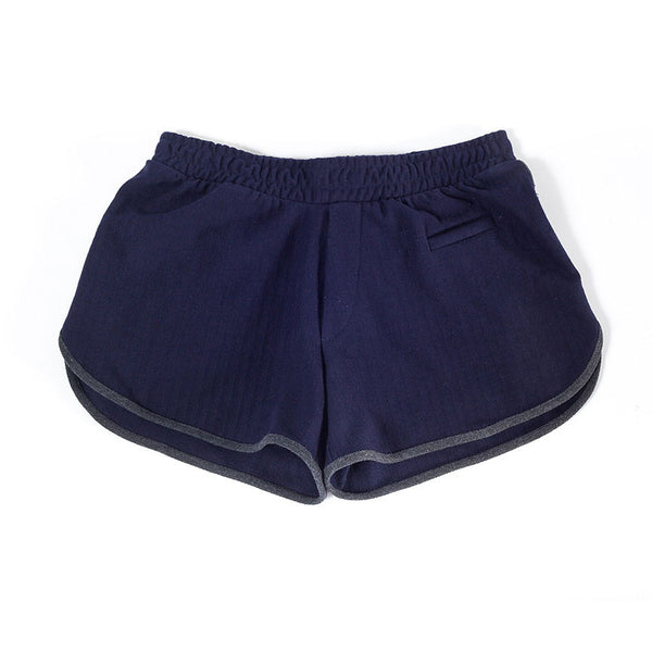 Women's Short | Herringbone | Indigo