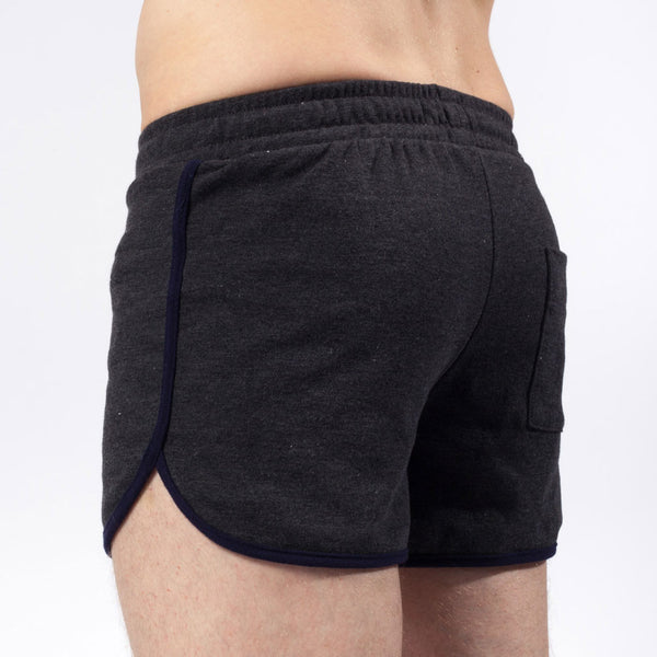 3.5 inch short | Jersey | Charcoal