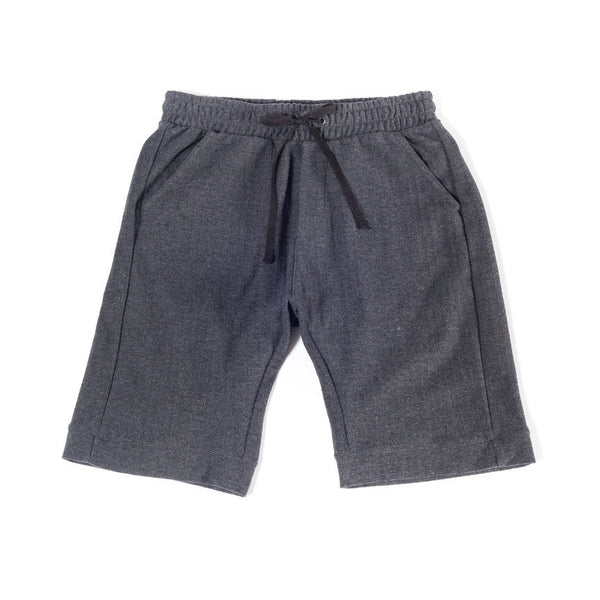 9 Inch Short | Herringbone | Charcoal