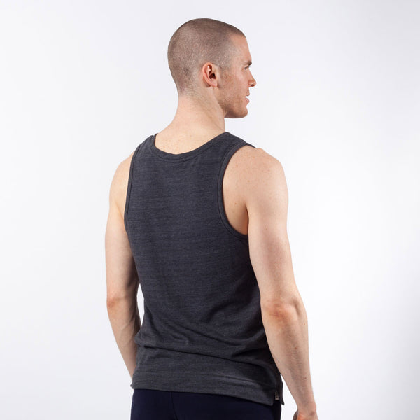 Core Tank | Small Logo | Charcoal