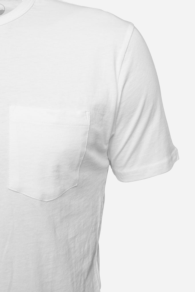 Pocket Tee — White