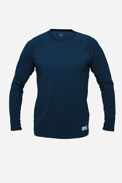 Long Sleeve — Wavy Navy