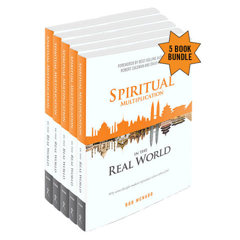 Spiritual Multiplication in the Real World - 5 Book Bundle (Staff price - before discount)