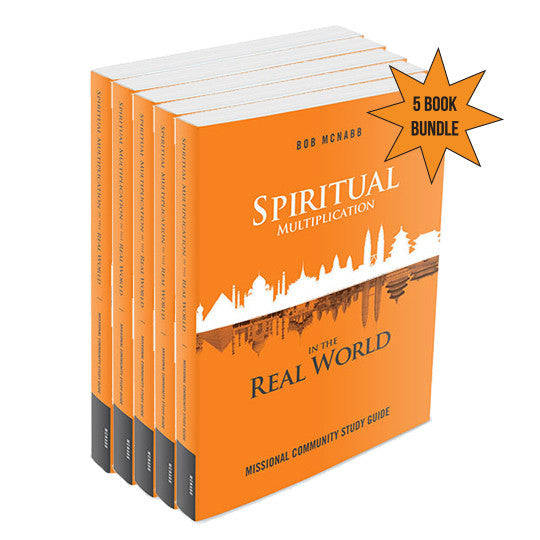 Spiritual Multiplication in the Real World: Missional Community Study Guide - 5 Book Bundle (Staff Price - before discount)
