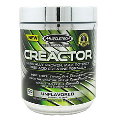 MuscleTech Creactor - Unflavored - 120 Servings - 631656708172