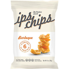 ips All Natural The Protein Snack ips chips - Barbeque - 24 ea - 10853774004005