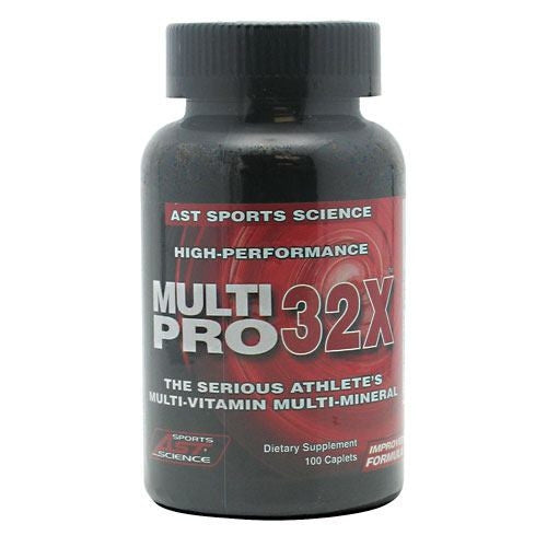 AST Sports Science Multi Pro-32X - 100 Caplets - 705077002123