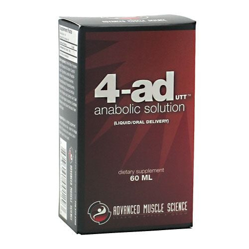 Advanced Muscle Science 4-AD - 60 ml - 893461001293
