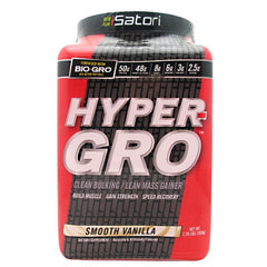 iSatori Hyper-Gro - Smooth Vanilla - 16 Servings - 883488003646