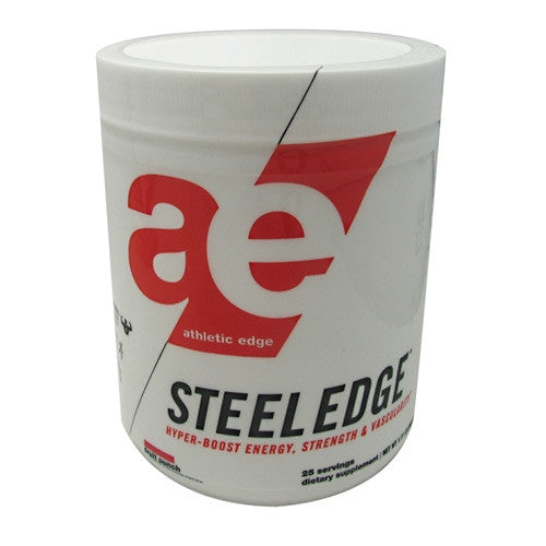 Athletic Edge Nutrition Steel Edge - Fruit Punch - 25 Servings - 862512000059