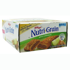 Kelloggs Nutri-Grain Cereal Bars - Apple Cinnamon - 16 Bars - 038000356483