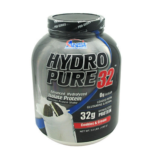 Advance Nutrient Science Hydro Pure 32 - Cookies and Cream - 3 lb - 689570405967