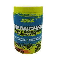 Swole Branched - Peach Iced Tea - 30 Servings - 728028395822