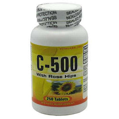 Vitalabs Vitamin C-500 mg with Rose Hips
