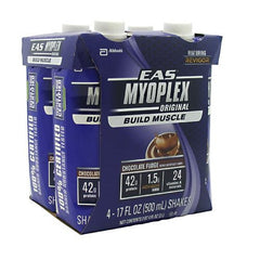 EAS Myoplex Original Nutrition Shake RTD - Chocolate Fudge - 12 ea - 00791083006125