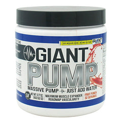 Giant Sports Products Giant Pump - Fruit Punch - 32 Servings - 640052144309