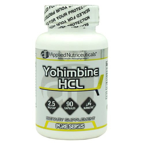 Applied Nutriceuticals Pure Series Yohimbine HCL - 90 Capsules - 854994004199