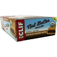 Clif Bar Chocolate Hazelnut Butter bars - Chocolate Hazelnut Butter - 12 Bars - 722252368003