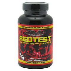 Muscleology Redtest - 120 Capsules - 829263300012