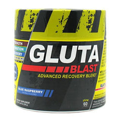 Con-Cret Gluta-Blast - Blue Raspberry - 60 Servings - 682676762606