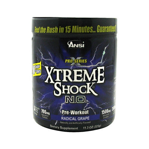 Advance Nutrient Science Pro-Series Xtreme Shock N.O. - Radical Grape - 34 Servings - 689570407046