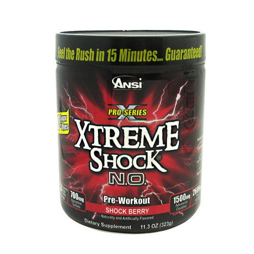 Advance Nutrient Science Xtreme Shock N.O. - Shock Berry - 34 Servings - 689570407060