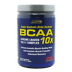 MHP BCAA 10X - Fruit Punch - 30 Servings - 666222093703