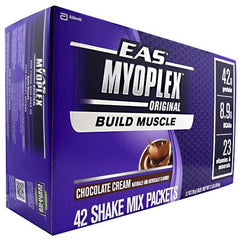EAS Myoplex Nutrition Shake - Chocolate Cream - 42 ea - 791083004701