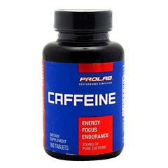 Prolab Caffeine - 100 Tablets - 750902102226