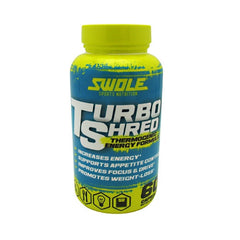Swole Turbo Shred - 60 Capsules - 728028392548