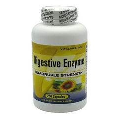 Vitalabs Digestive Enzyme - 250 Capsules - 092617081930