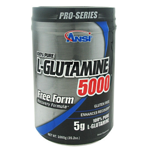 Advance Nutrient Science L-Glutamine 5000 - Unflavored - 1000 g - 689570405721