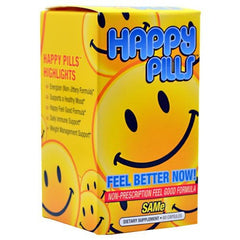 Brain Pharma Happy Pills - 60 Capsules - 851780003121