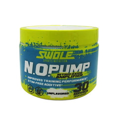 Swole N.O. Pump - Unflavored - 30 Servings - 728028395815