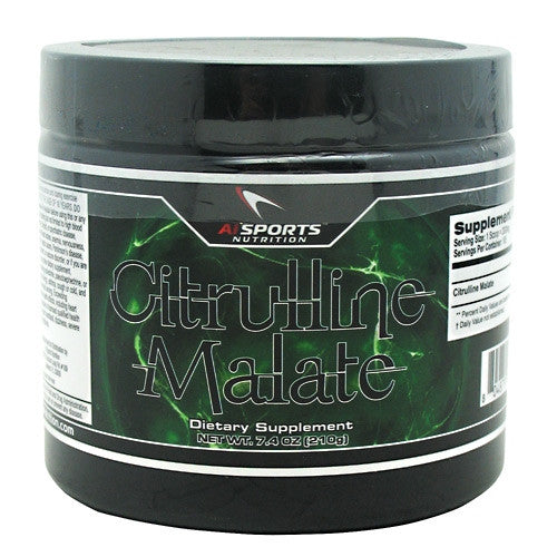 AI Sports Nutrition Citrulline Malate - Unflavored - 7.4 oz - 804879526438