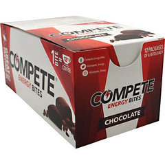 Compete Energy Bites - Chocolate - 12 ea - 301780230121