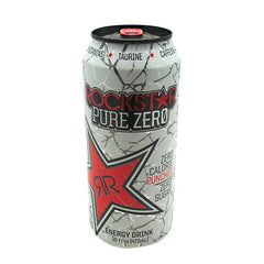 Rockstar Rockstar Pure Zero - Punched - 24 Cans - 818094003094