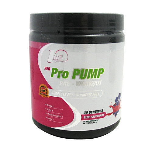 1 UP Nutrition Her ProPump - Blue Raspberry - 30 Servings - 019962231919