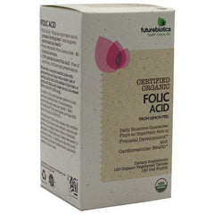 Futurebiotics Certified Organic Folic Acid - 120 Tablets - 049479035182