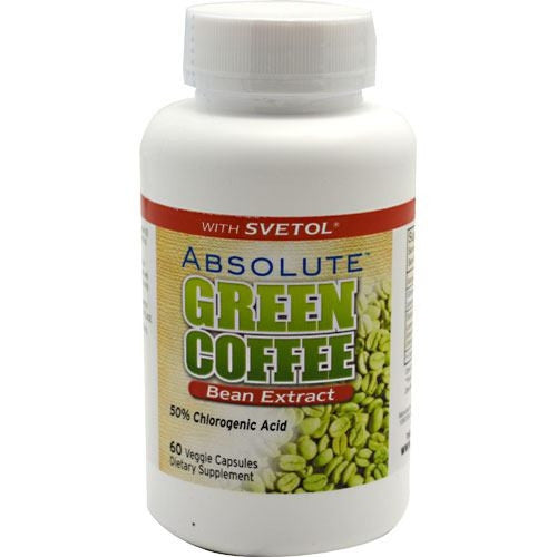 Absolute Nutrition Absolute Green Coffee Bean Extract - 60 Capsules - 708235089301
