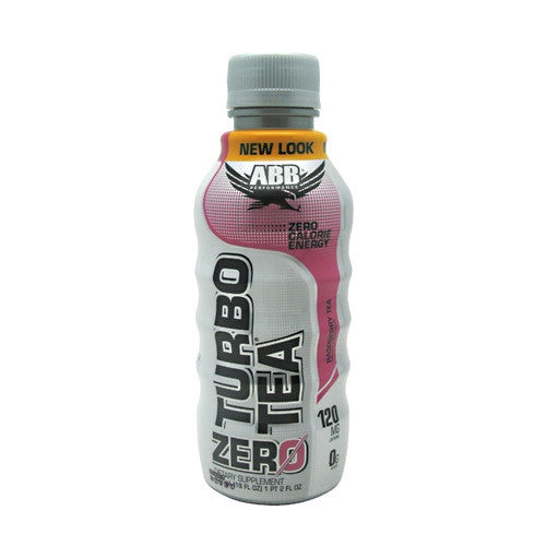 ABB Turbo Tea Zero - Raspberry Tea - 12 Bottles - 00045529889965