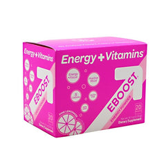 Eboost Eboost Energy Powder - Pink Lemonade - 20 Packets - 094922112774