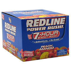 VPX Redline 7-Hour Energy Boost - Peach Mango - 24 ea - 610764370365